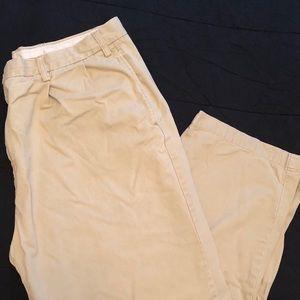 Nautica classic fit khaki pants size 42X32